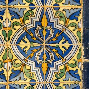 Made in Spain Square Collection - Details of Oriental Mosaic by Philippe Hugonnard