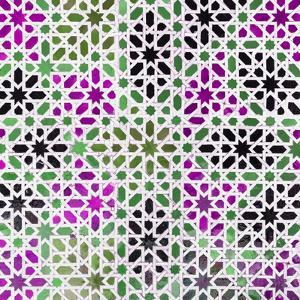 Made in Spain Square Collection - Oriental Mosaic IV by Philippe Hugonnard