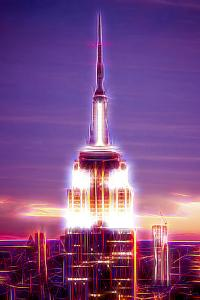 Manhattan Shine - Empire State Building by Philippe Hugonnard