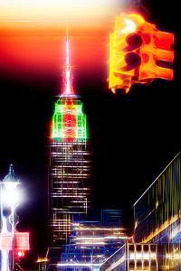 Manhattan Shine - Red Trail by Philippe Hugonnard
