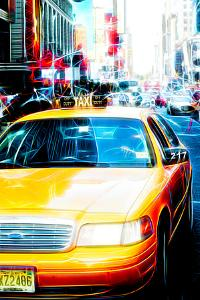 Manhattan Shine - Taxi by Philippe Hugonnard