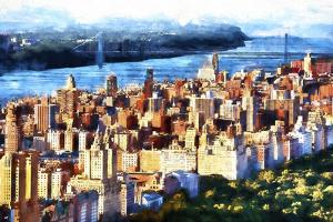 Manhattan Upper West Side by Philippe Hugonnard