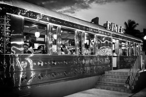 Miami South Beach and Art Deco - Diner Restaurant - Florida - USA by Philippe Hugonnard