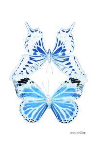 Miss Butterfly Duo Xugenutia II - X-Ray White Edition by Philippe Hugonnard