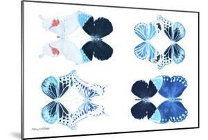 Miss Butterfly X-Ray Duo White II by Philippe Hugonnard
