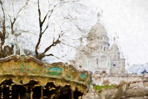 Montmartre - In the Style of Oil Painting by Philippe Hugonnard