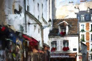 Montmartre Village by Philippe Hugonnard