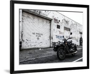Motorcycle Garage in Brooklyn by Philippe Hugonnard