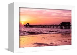 Naples Florida Pier at Sunset by Philippe Hugonnard