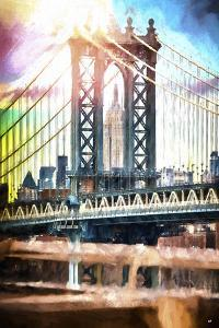 New York City Bridge II by Philippe Hugonnard