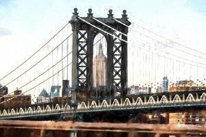 New York City Bridge III by Philippe Hugonnard