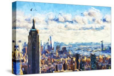 New York Skyline VI - In the Style of Oil Painting