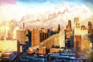 New York Sunset Colors by Philippe Hugonnard