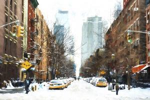 New York Winter Day by Philippe Hugonnard