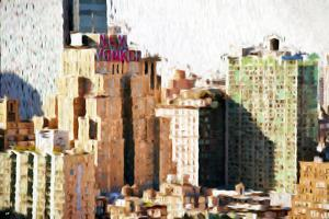 New Yorker - In the Style of Oil Painting by Philippe Hugonnard