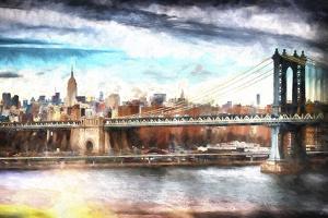 NYC Manhattan Bridge by Philippe Hugonnard