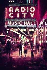 NYC Radio City by Philippe Hugonnard