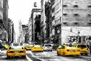 NYC Taxi Cabs by Philippe Hugonnard