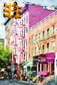 NYC Urban Scene III - In the Style of Oil Painting by Philippe Hugonnard