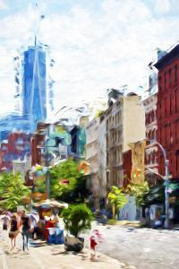 NYC Urban Scene IV - In the Style of Oil Painting by Philippe Hugonnard