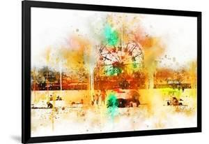 NYC Watercolor Collection - Coney Island by Philippe Hugonnard