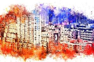 NYC Watercolor Collection - Garment District by Philippe Hugonnard