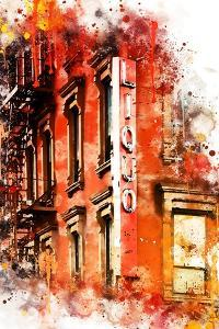NYC Watercolor Collection - Liquors by Philippe Hugonnard
