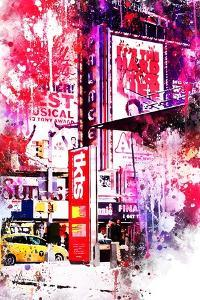 NYC Watercolor Collection - Musical by Philippe Hugonnard