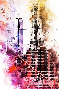 NYC Watercolor Collection - Take Height by Philippe Hugonnard