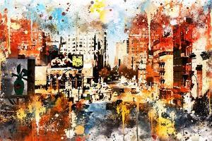 NYC Watercolor Collection - Vision by Philippe Hugonnard