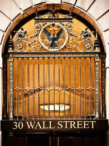 Nysc 30 Wall Street Building, Financial District, Manhattan, New York City, US, USA, Vintage Colors by Philippe Hugonnard
