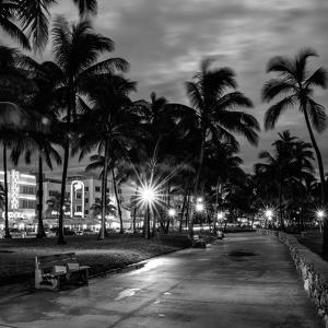 Ocean Drive by Night - Miami by Philippe Hugonnard