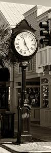 Old Clock - Key West - Florida by Philippe Hugonnard