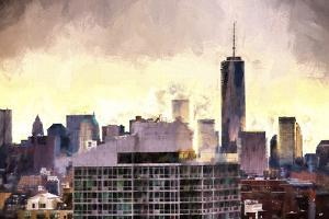 One World Trade Center Cityscape by Philippe Hugonnard