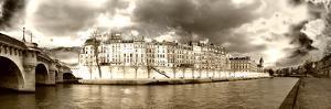 Panoramic Landscape - Ile Saint Louis - Paris - France by Philippe Hugonnard