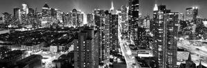 Panoramic Landscape - Times square - Manhattan - New York City - United States by Philippe Hugonnard