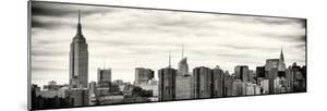 Panoramic Landscape View Manhattan with the Empire State Building and Chrysler Building - NYC by Philippe Hugonnard