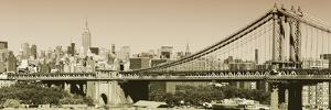 Panoramic - Landscapes - Brooklyn Bridge - New York - United States by Philippe Hugonnard