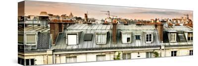 Panoramic Rooftops View, Sacre-Cœur Basilica, Paris, France