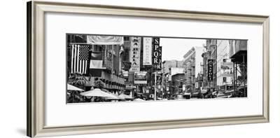Panoramic Urban Landscape - Little Italy - Manhattan - New York City - United States