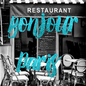 Paris Fashion Series - Bonjour Paris - French Restaurant III by Philippe Hugonnard