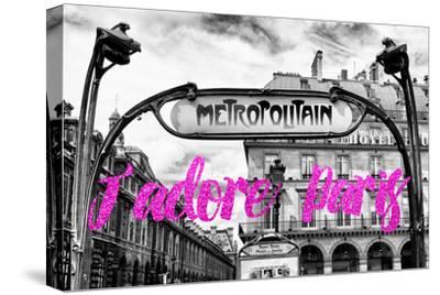 Paris Fashion Series - J'adore Paris - Metropolitain II