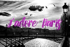 Paris Fashion Series - J'adore Paris - Paris Bridge II by Philippe Hugonnard