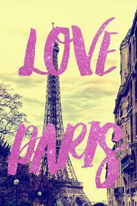 Paris Fashion Series - Love Paris - Eiffel Tower II by Philippe Hugonnard