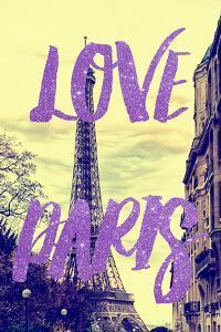 Paris Fashion Series - Love Paris - Eiffel Tower by Philippe Hugonnard
