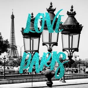 Paris Fashion Series - Love Paris - Parisian Lamppost II by Philippe Hugonnard