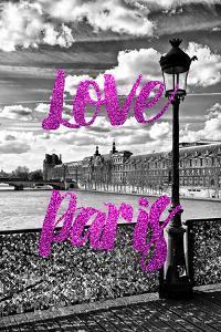 Paris Fashion Series - Love Paris - Pont des Arts IV by Philippe Hugonnard