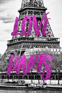 Paris Fashion Series - Love Paris - The Eiffel Tower by Philippe Hugonnard