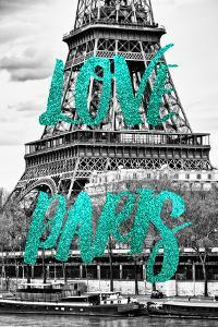 Paris Fashion Series - Love Paris - The Eiffel Tower by Philippe Hugonnard