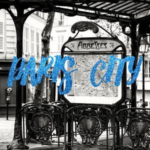 Paris Fashion Series - Paris City - Metro Abbesses III by Philippe Hugonnard